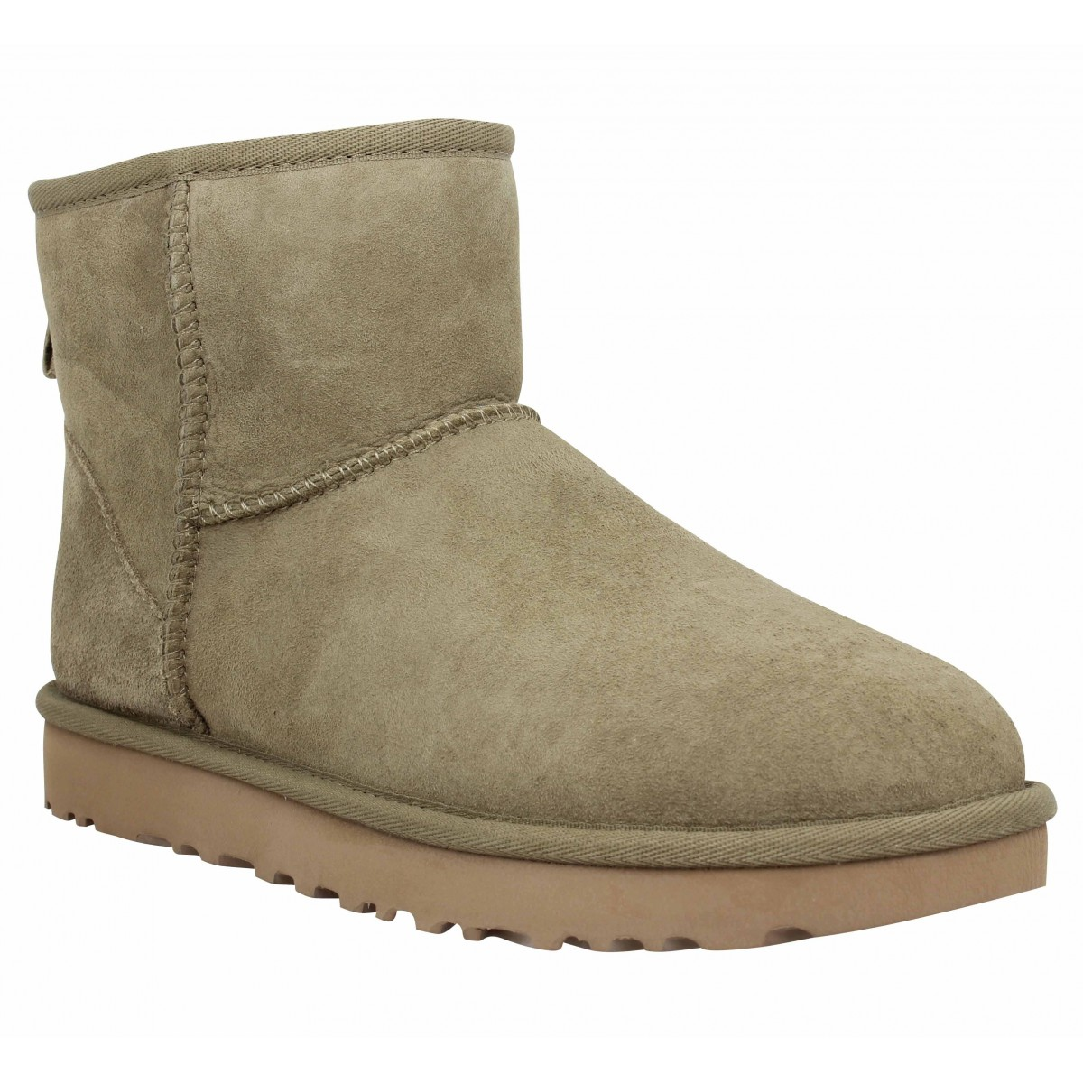 Bottines UGG Classic Mini velours Femme Alp