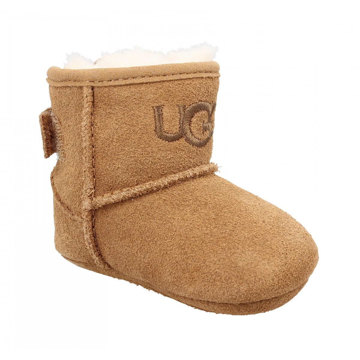 Bottines UGG Jess velours Enfant Chestnut