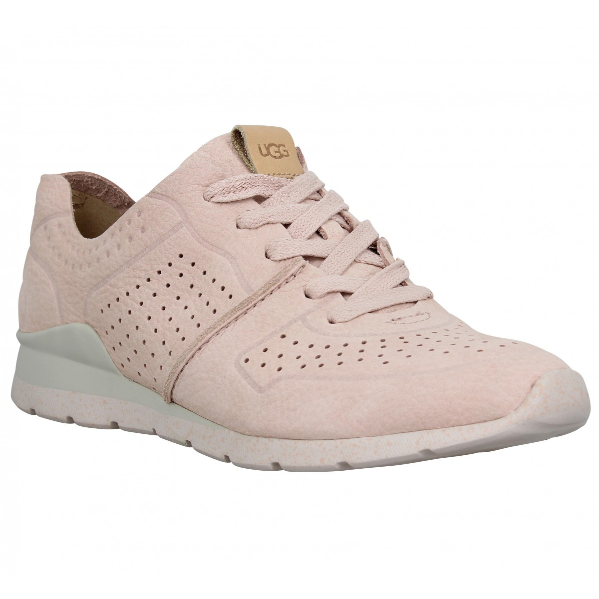 Baskets UGG Tye cuir Quartz