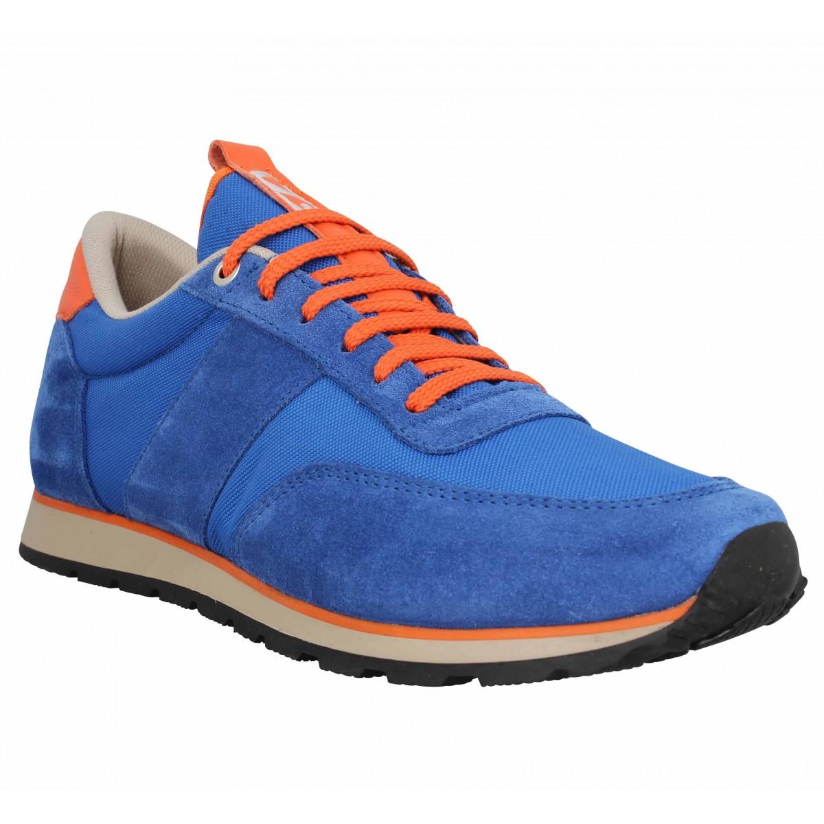 UZS Sneakers Marque 417 Velours Toile...