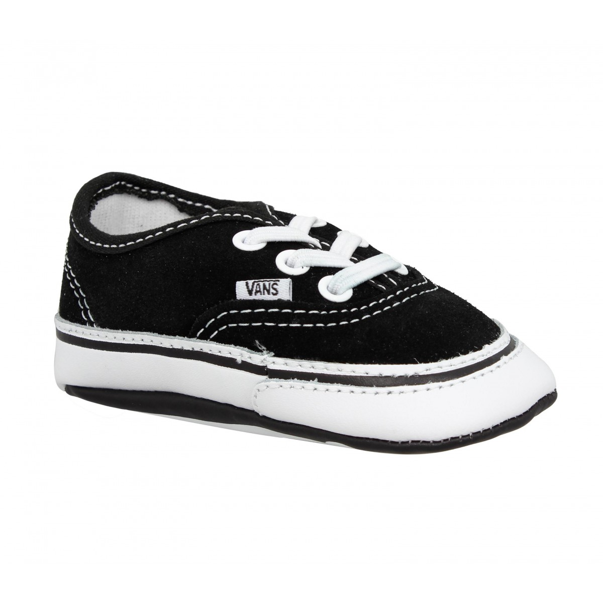 Baskets VANS Authentic Bébé velours Enfant Noir