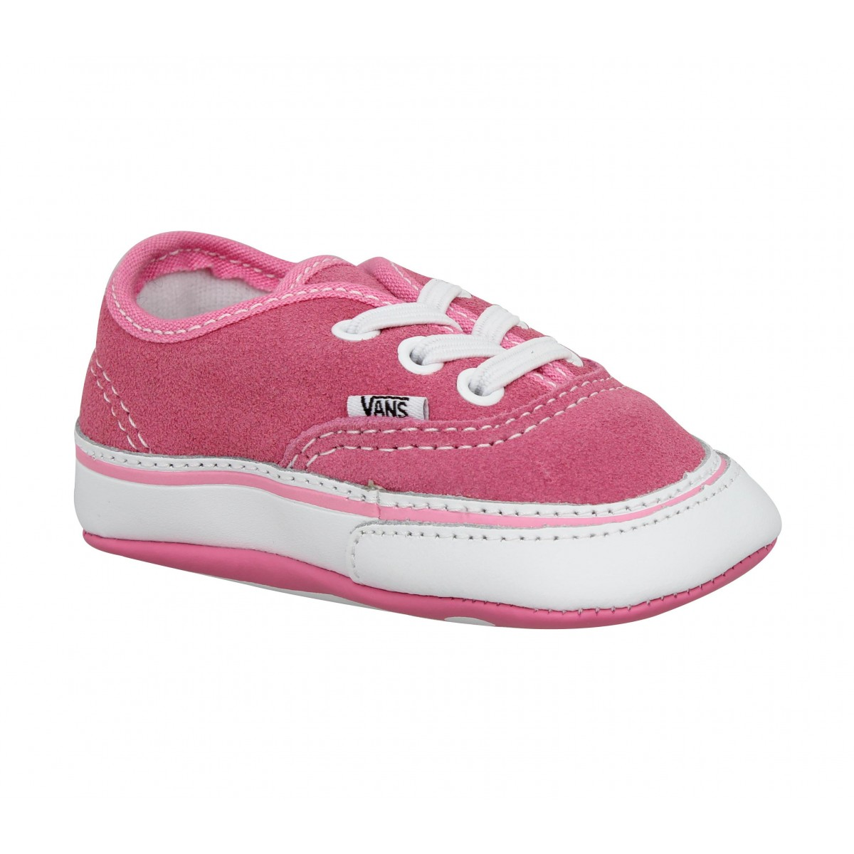 Baskets VANS Authentic Bébé velours Enfant Rose