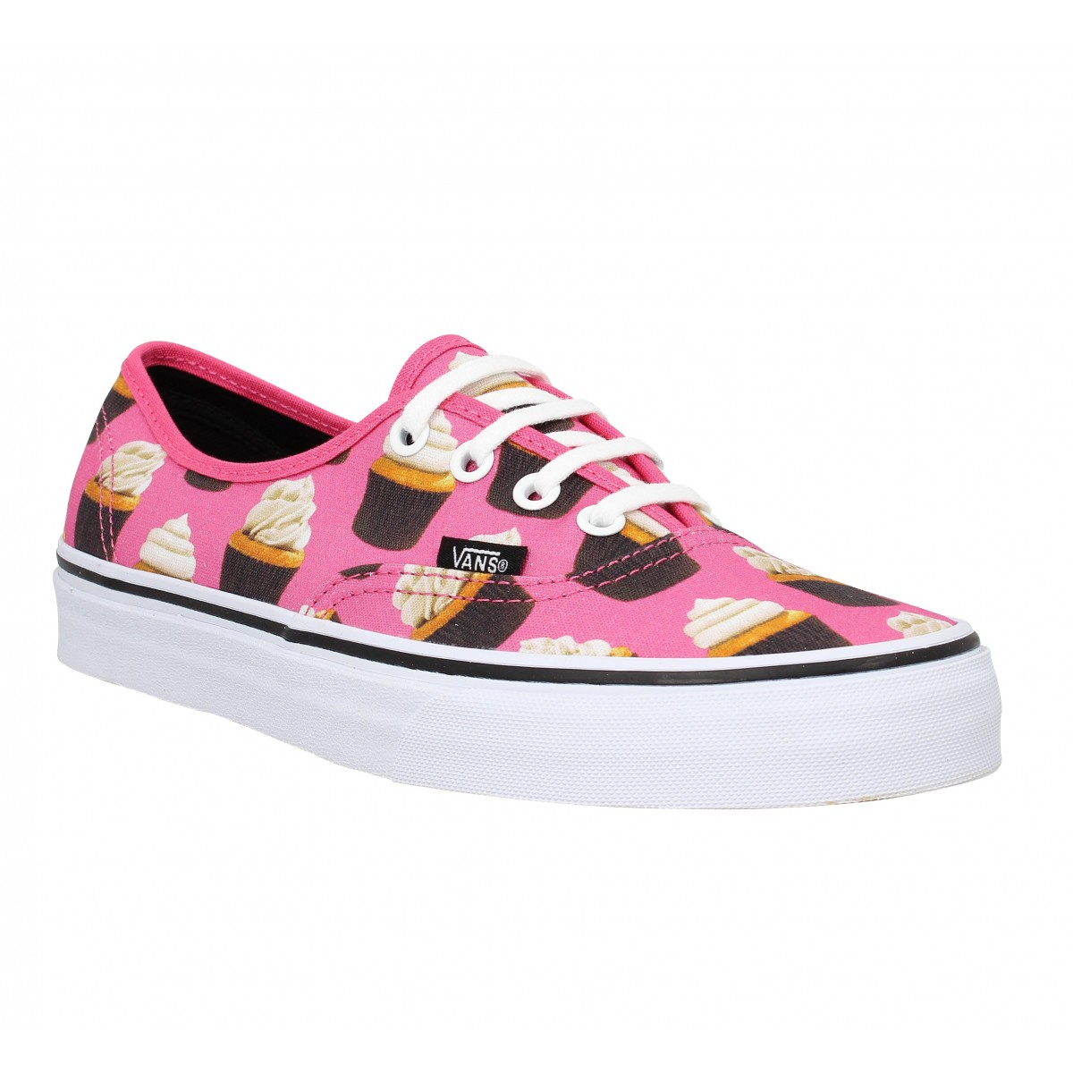 Baskets VANS Authentic cup cakes Femme Rose