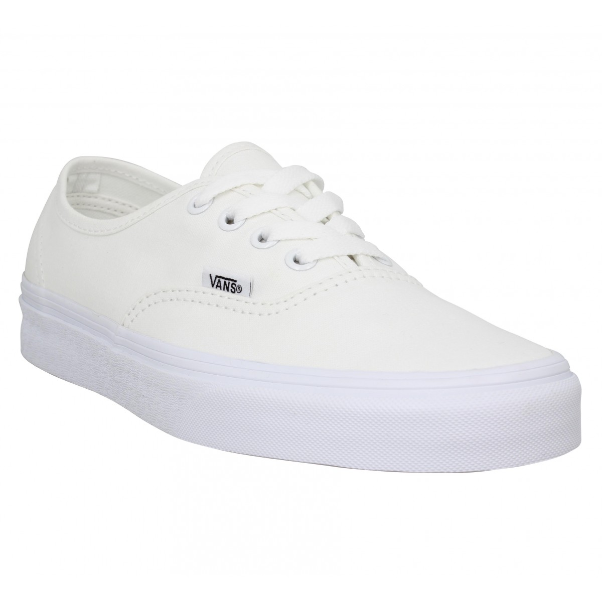 vans blanches homme