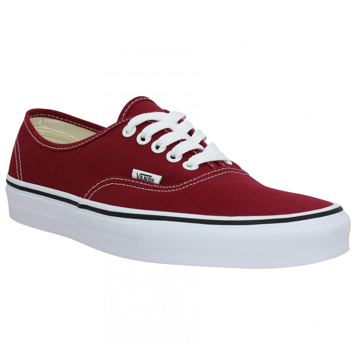 Baskets VANS Authentic toile Bordeaux
