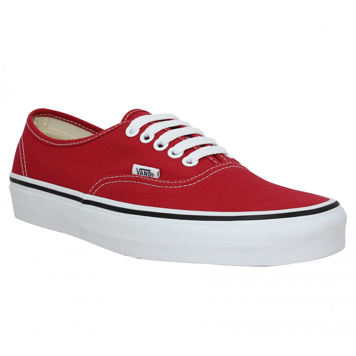 Baskets VANS Authentic toile Crimson