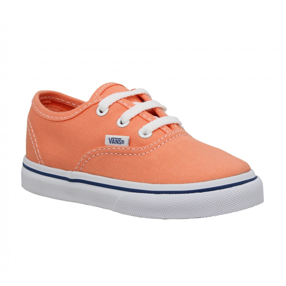 Vans Enfant Authentic Toile -27-melon