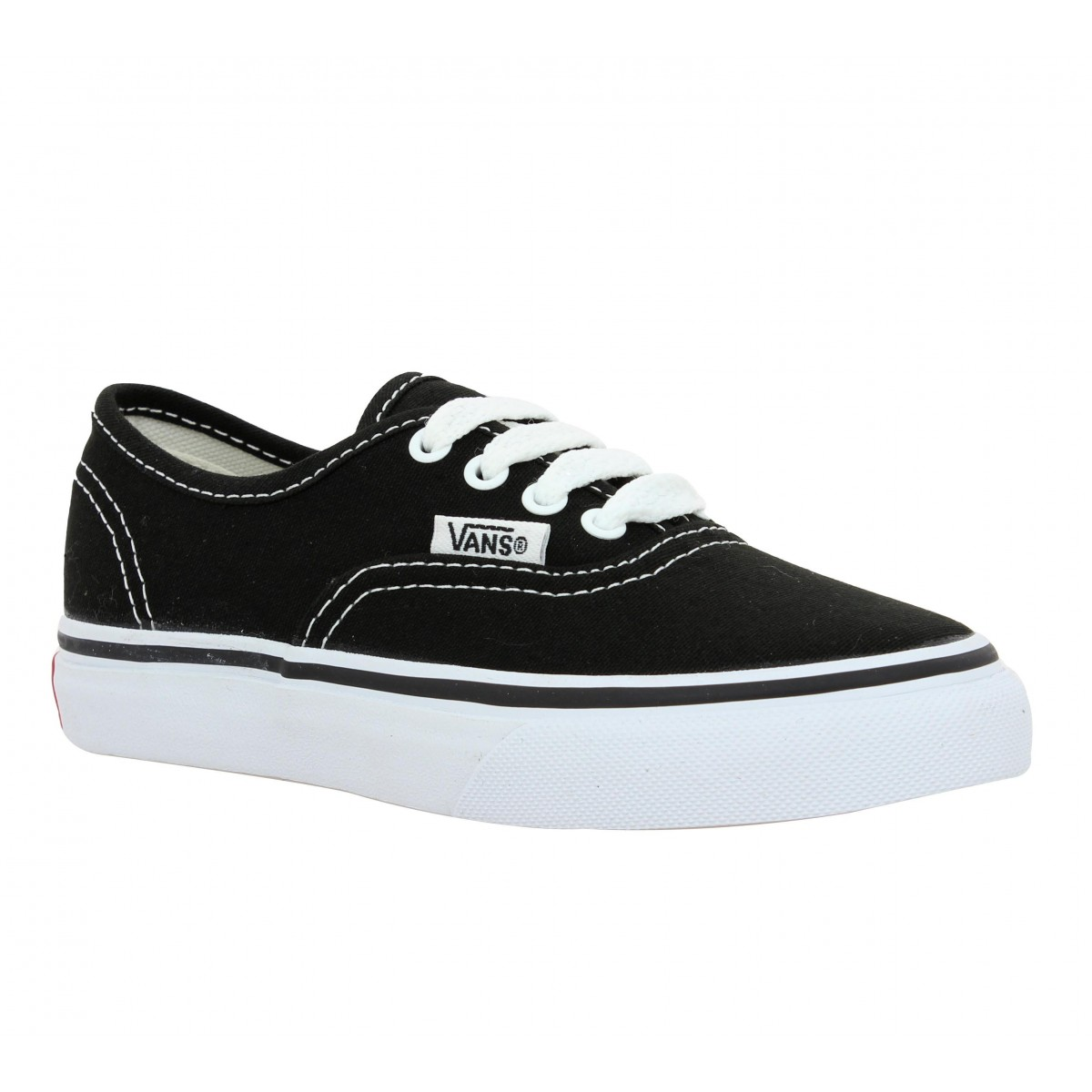 Baskets VANS Authentic toile Enfant Noir