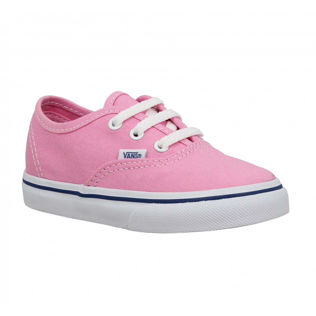Vans Enfant Authentic Toile -30-rose