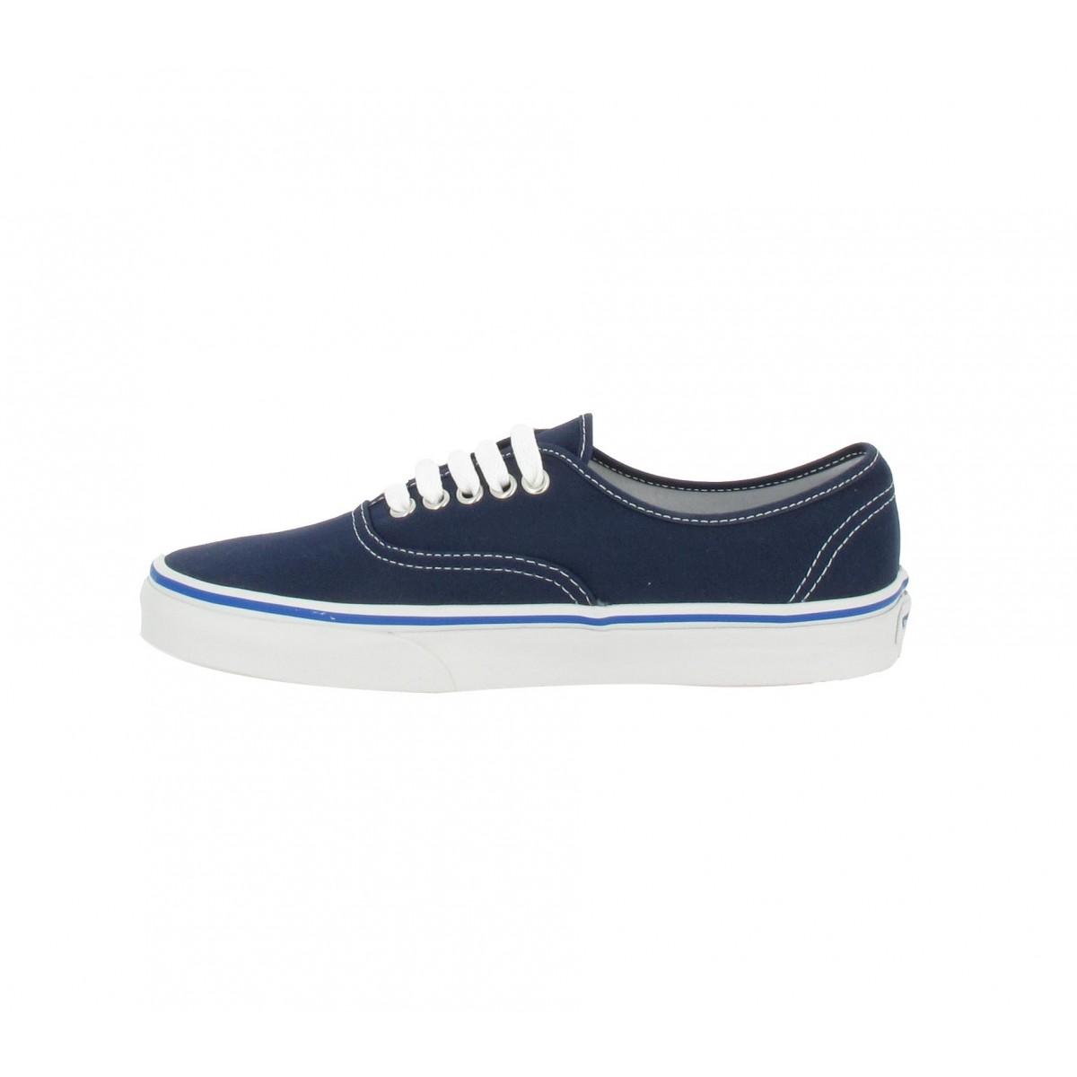 Vans authentic toile femme bleu nautical | Fanny chaussures