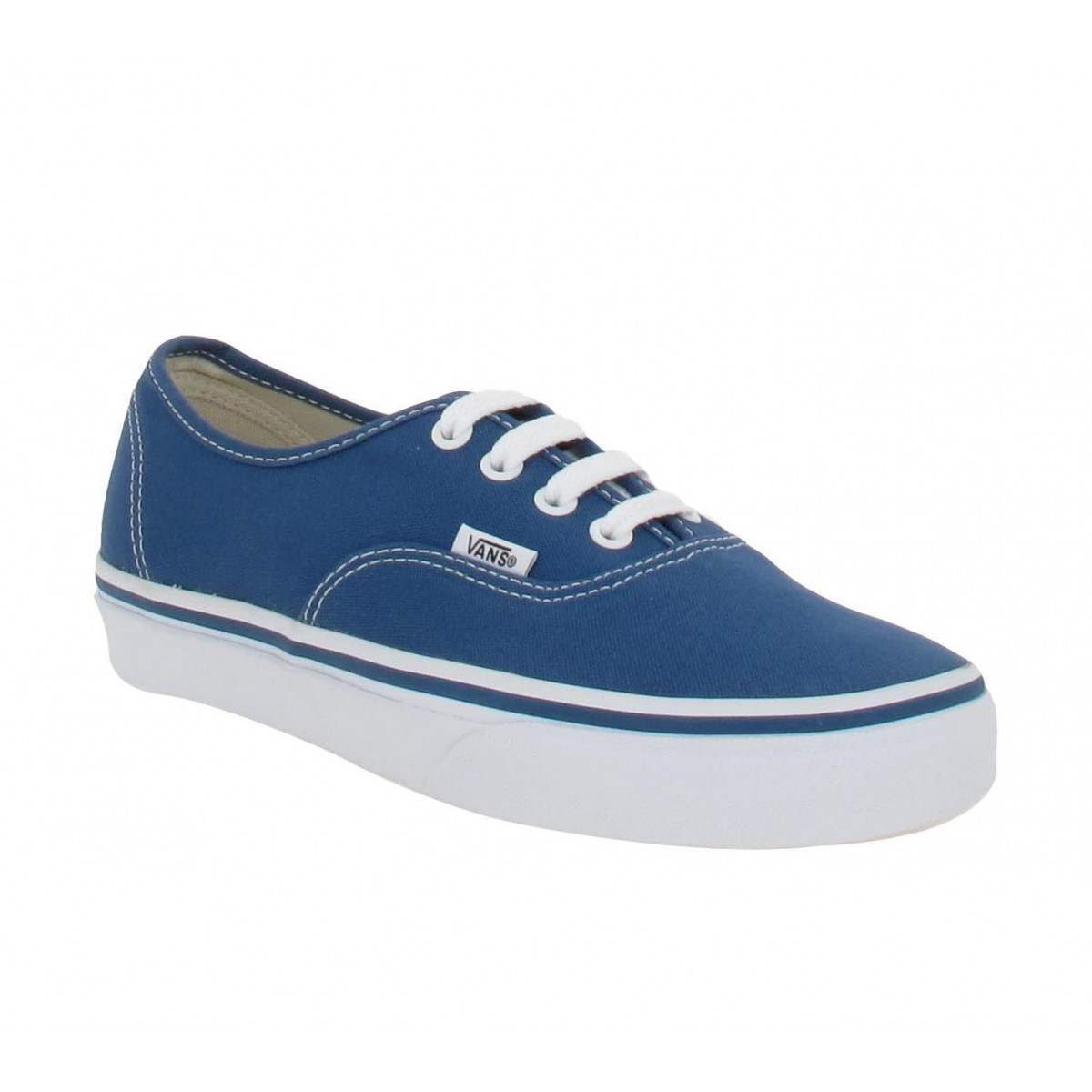 Baskets VANS Authentic toile Femme Marine