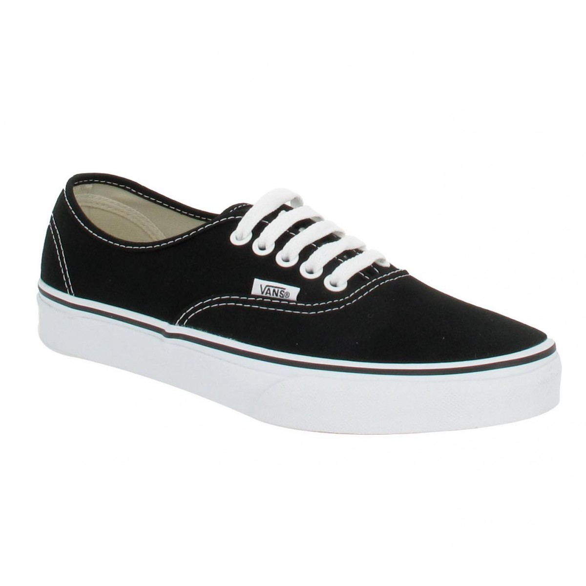Baskets VANS Authentic toile Femme Noir