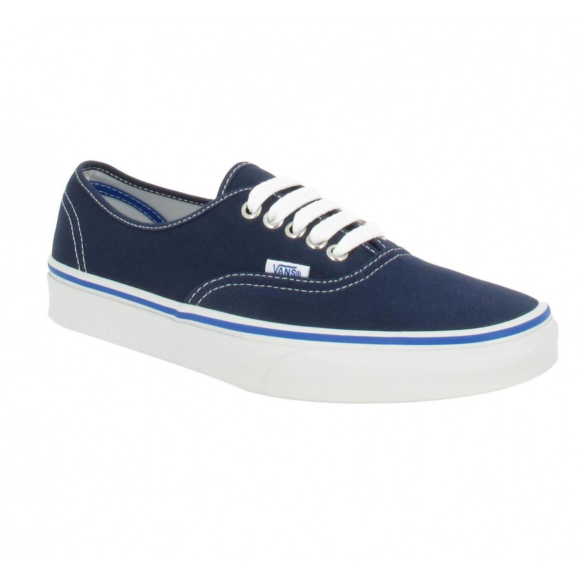 Baskets VANS Authentic toile Homme Bleu Nautical