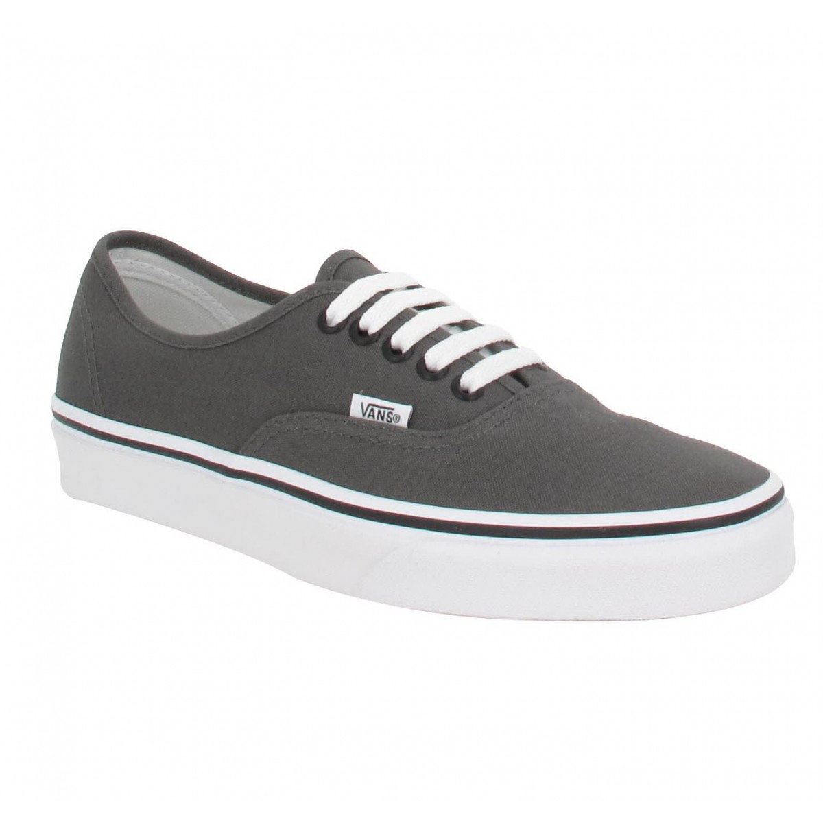 Baskets VANS Authentic toile Homme Gris