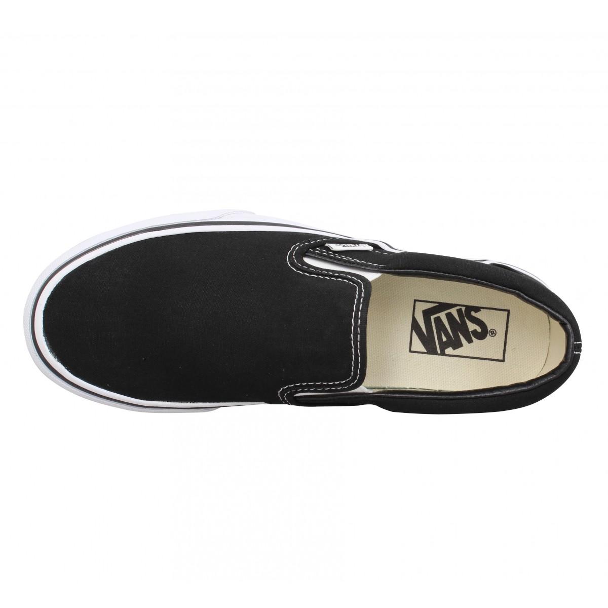 Chaussures Fanny Noir Slip On Classic Platform Fqhsx1 Toile Vans Femme iwTPuXZOk