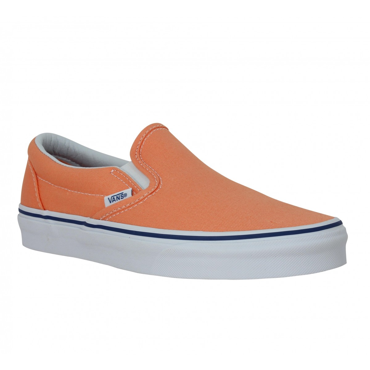 Baskets VANS Classic Slip On toile Femme Melon