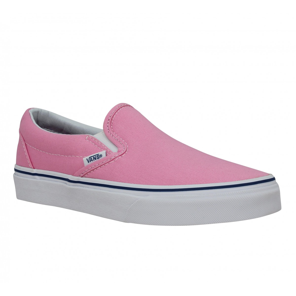 Baskets VANS Classic Slip On toile Femme Pink