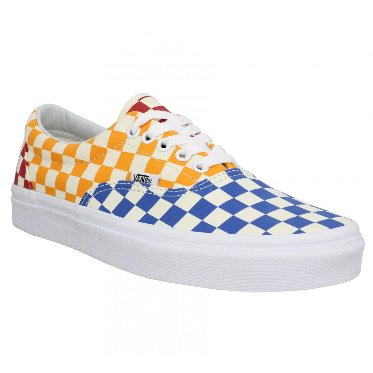 Baskets VANS Era Checkerboard toile Homme Multi