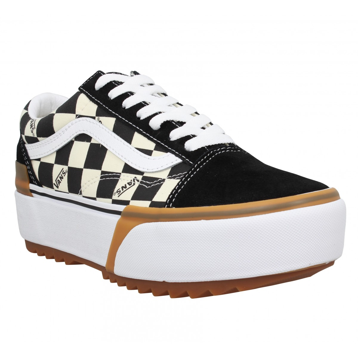 basket vans old school noir