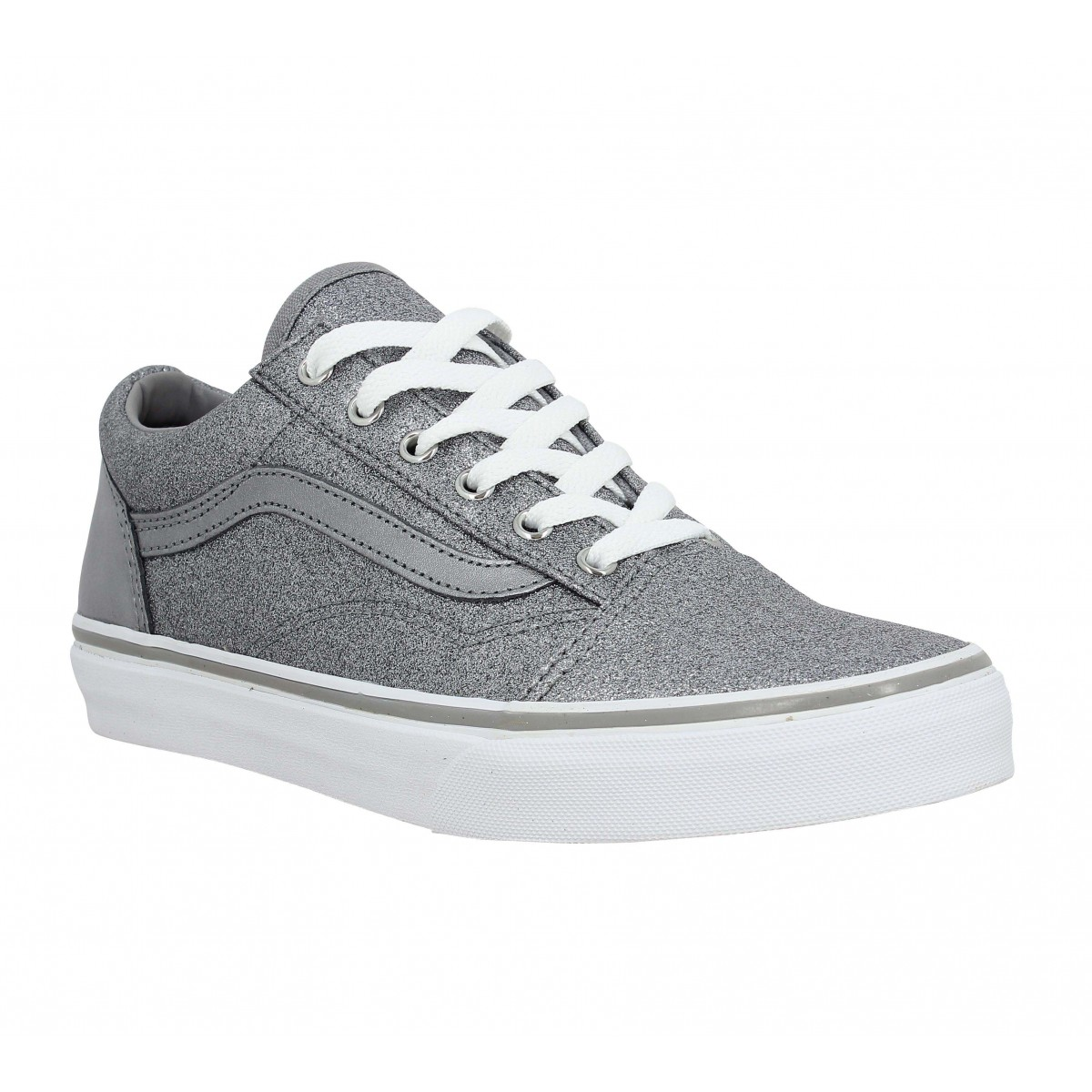 Baskets VANS Old Skool toile Enfant Metal