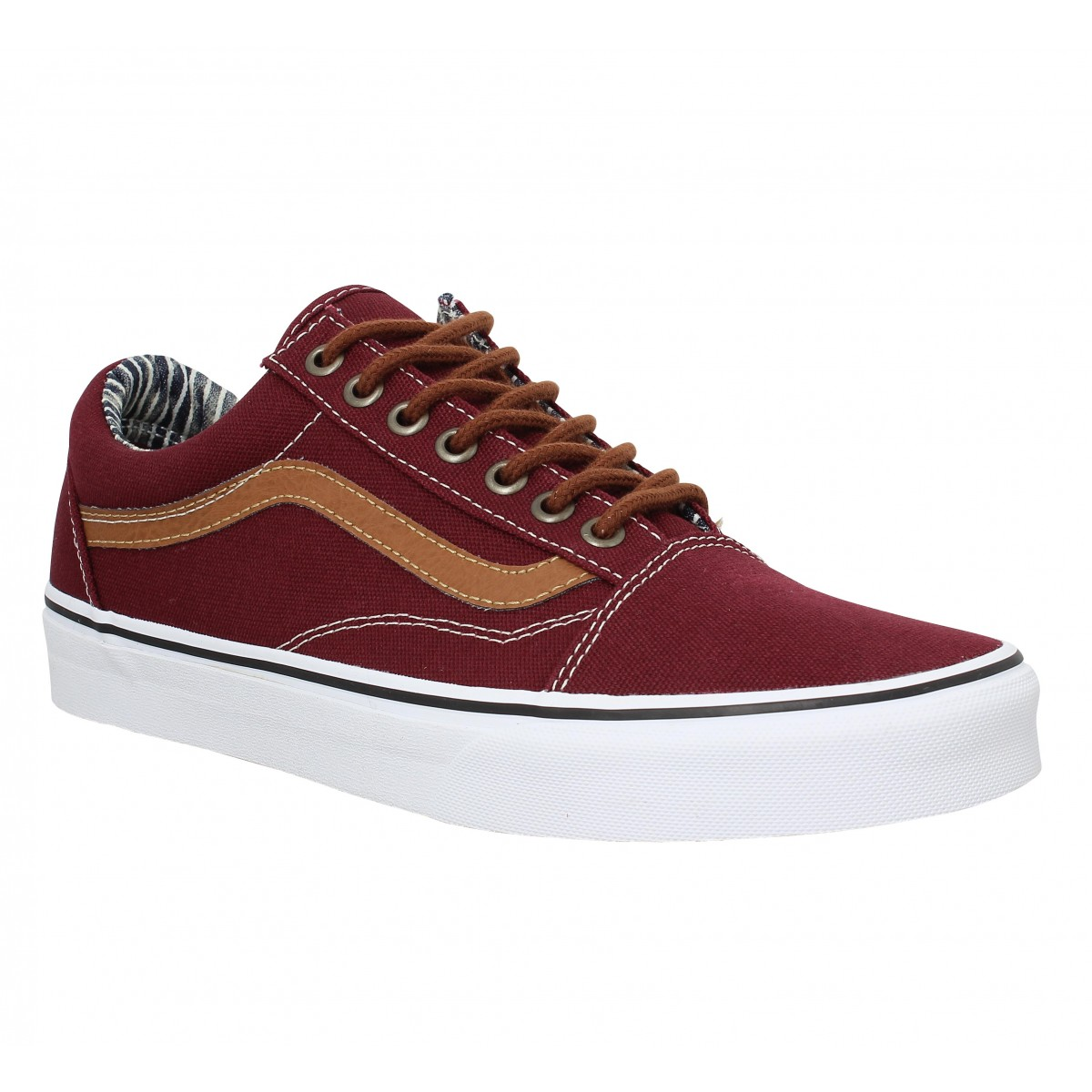 Baskets VANS Old Skool toile Homme Port Royal