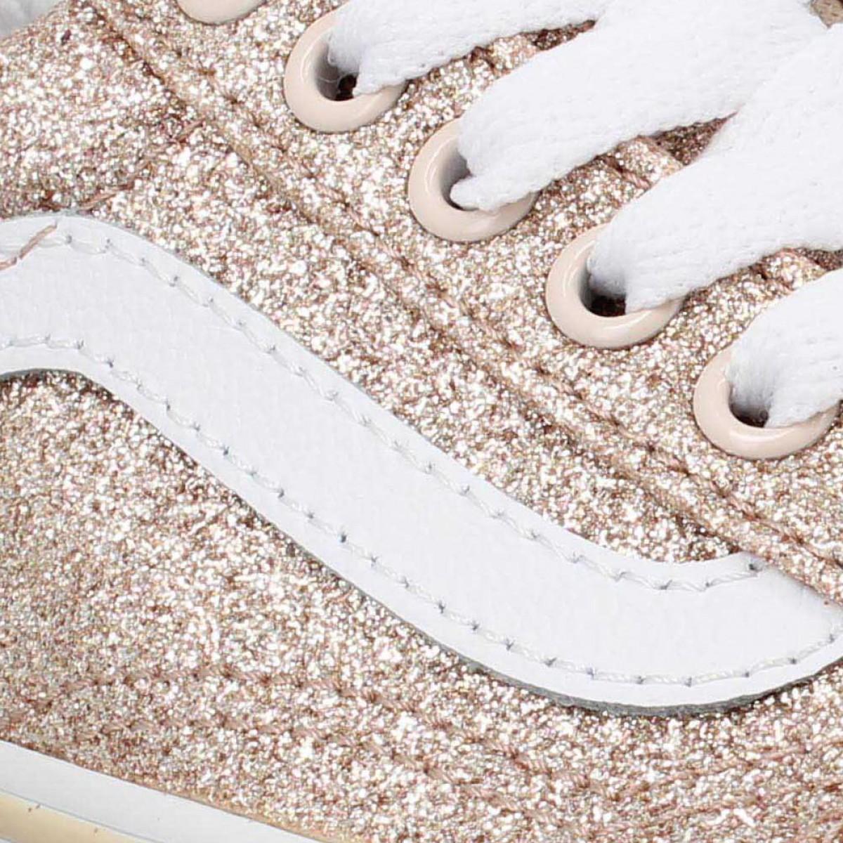 Vans old skool v glitter enfant sand enfants | Fanny chaussures