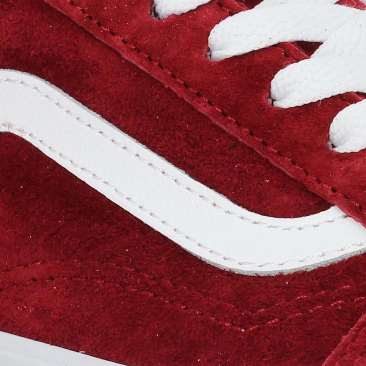 vans old skool femme rouge bordeaux