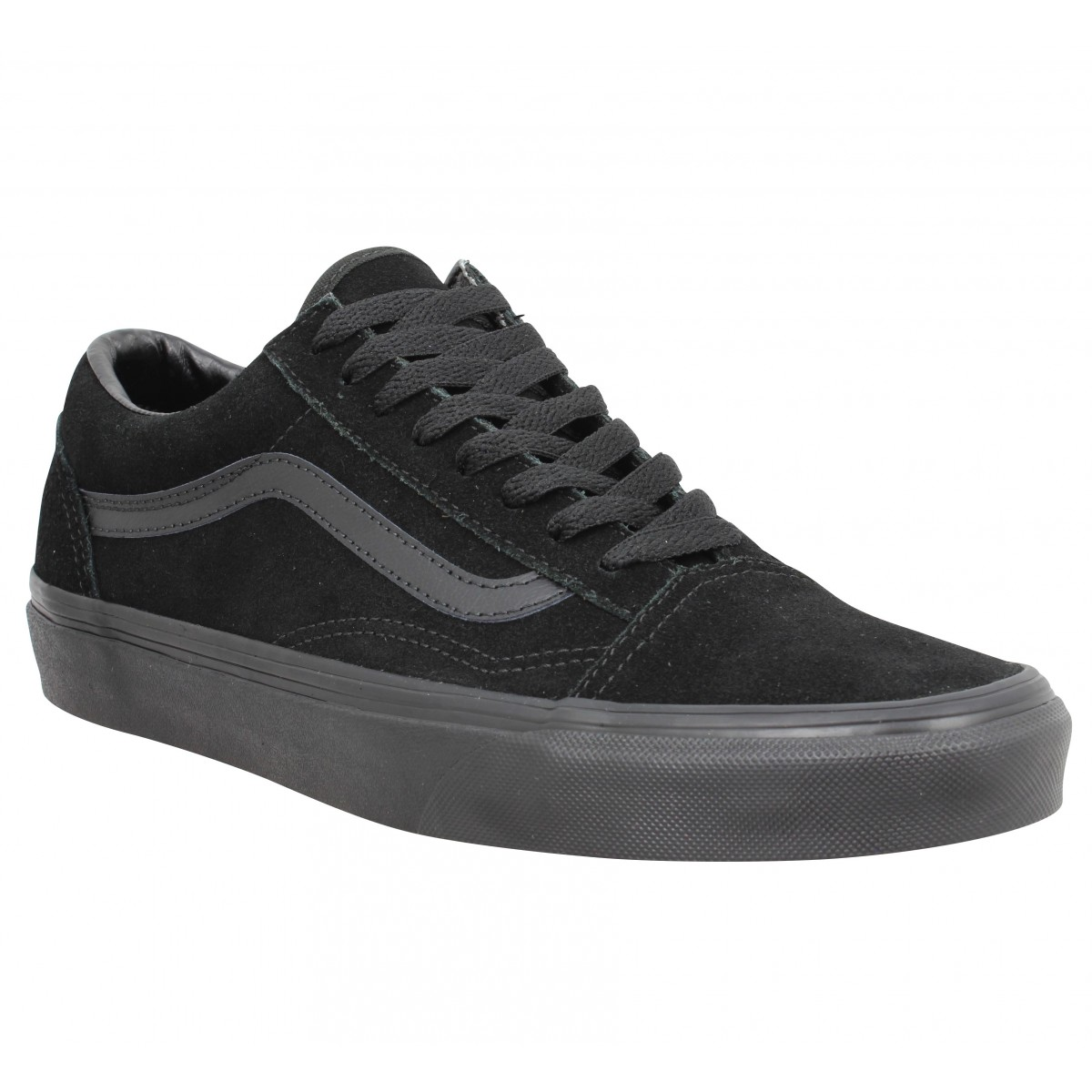 Vans Homme Old Skool Velours -42-noir