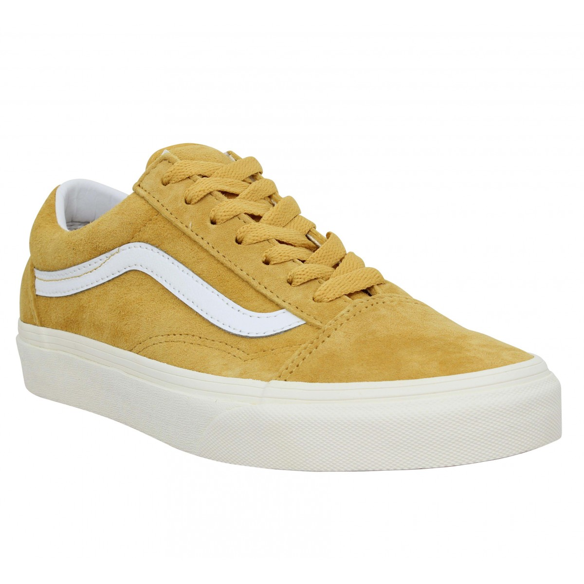 Baskets VANS Old Skool velours Honey Gold