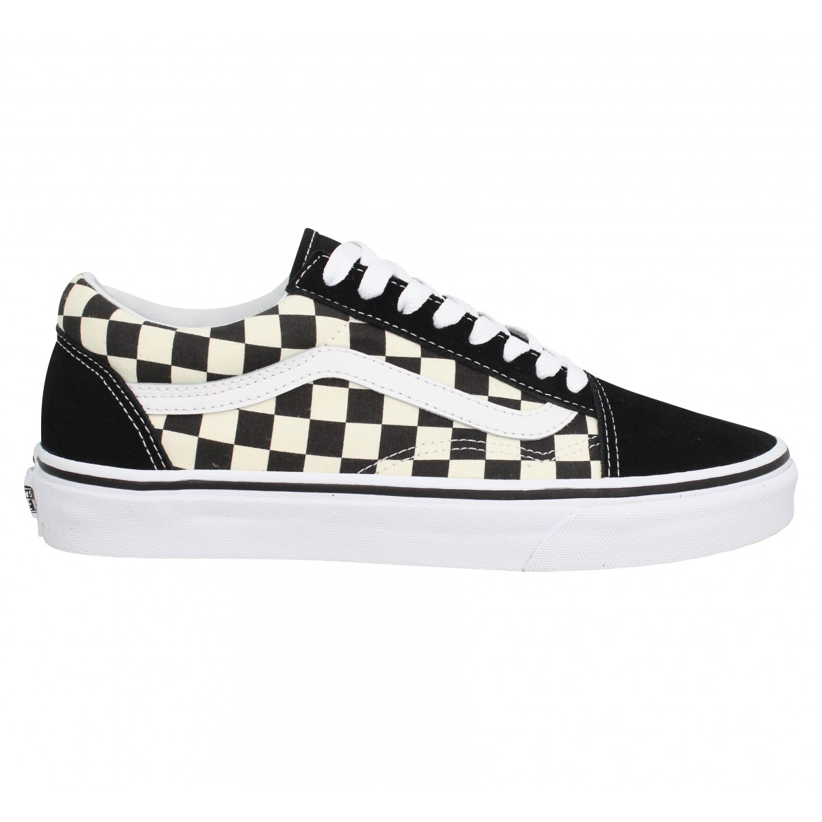 VANS Old Skool velours toile Damier