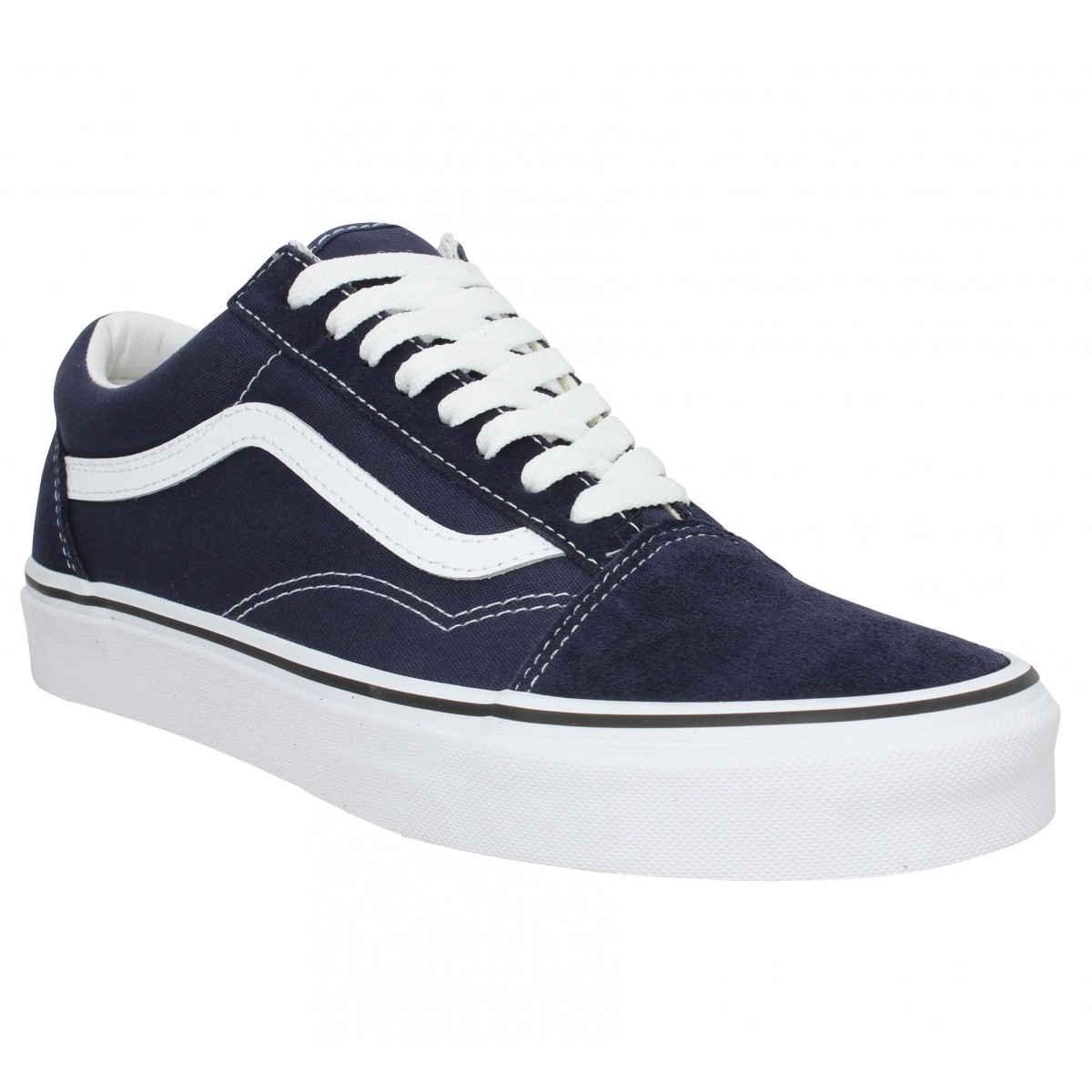 Baskets VANS Old Skool velours toile Homme Night Sky