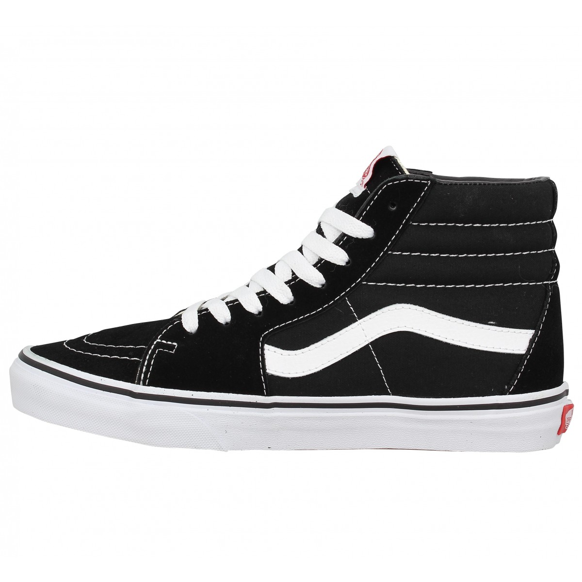 soldes vans sk8 hi noir homme fanny chaussures. Black Bedroom Furniture Sets. Home Design Ideas