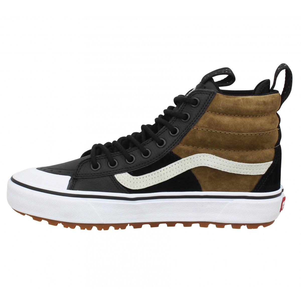 vans sk8 hi mte 2 0 dx cuir homme noir dirt homme fanny chaussures vans sk8 hi mte 2 0 dx cuir homme noir dirt