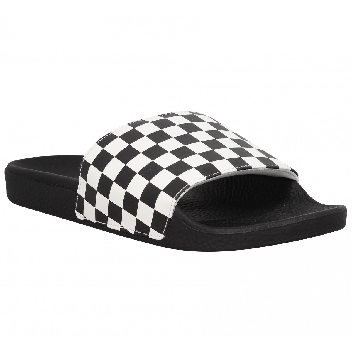 Mules VANS Slide On caoutchouc Damier
