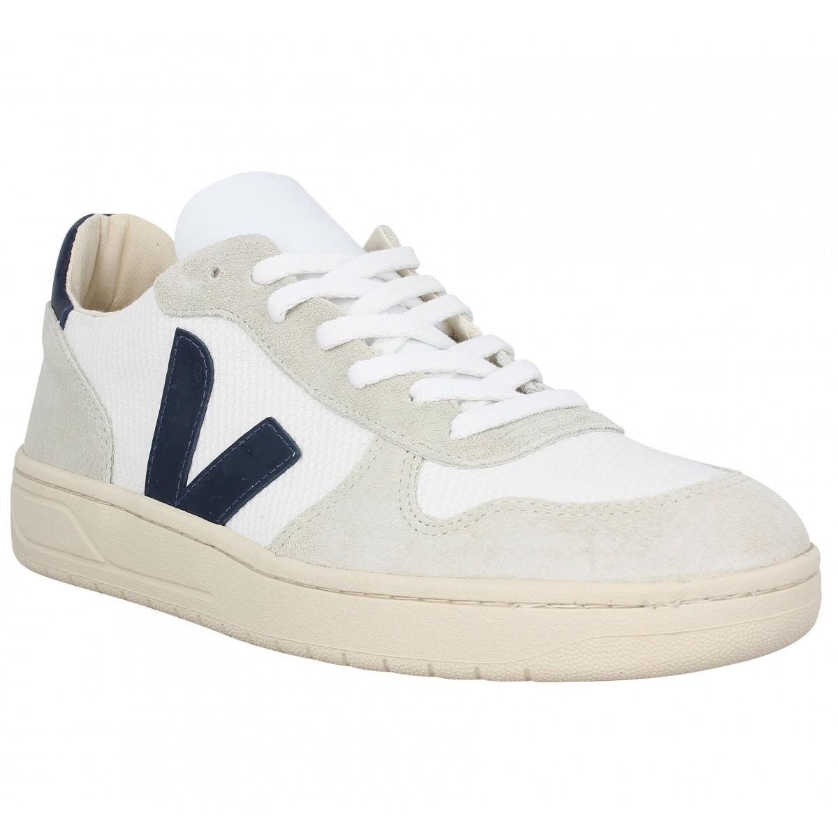Baskets VEJA V10 Mesh Homme Blanc Naturel