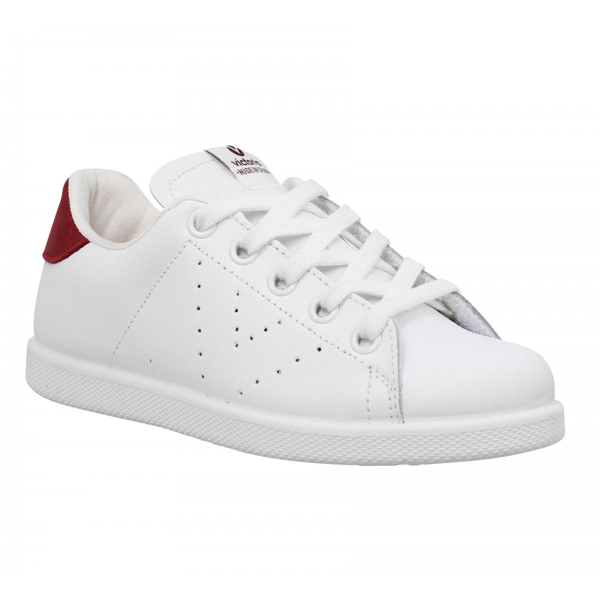 Baskets VICTORIA 12541 Enfant Blanc Rojo