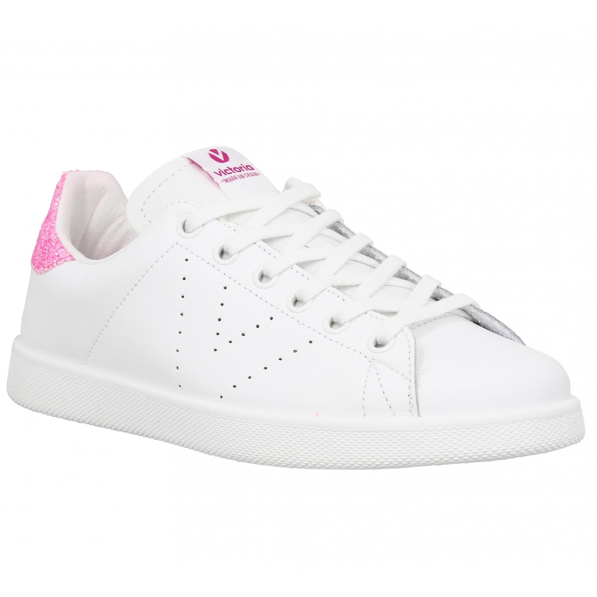 Baskets VICTORIA 12541 Femme Blanc Rosa