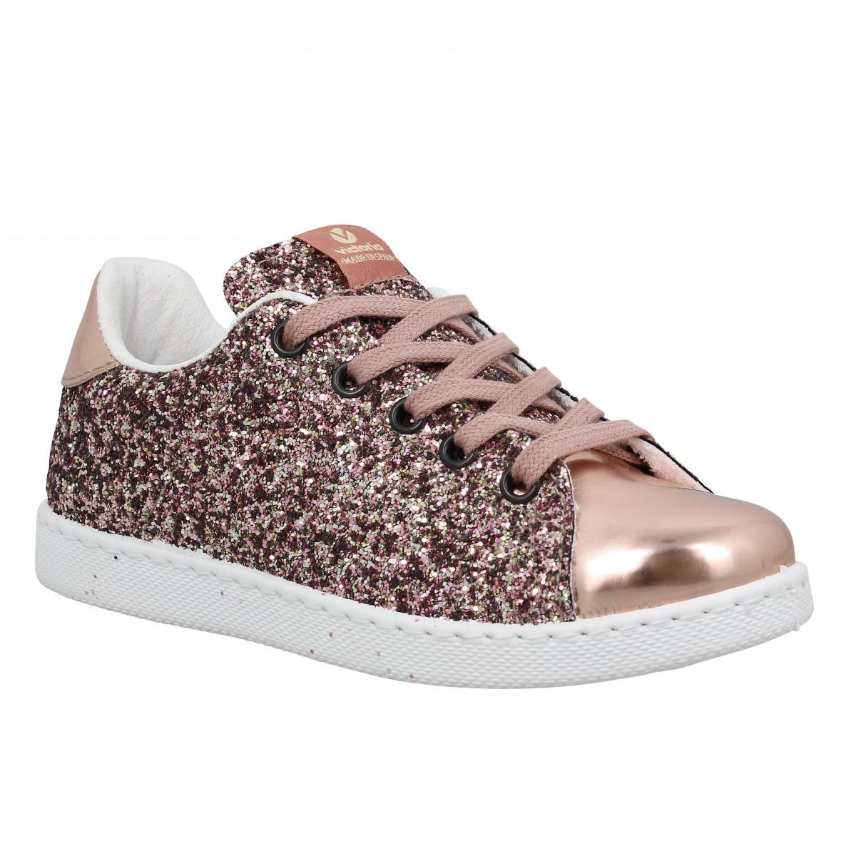 Baskets VICTORIA 12558 glitter Rosa