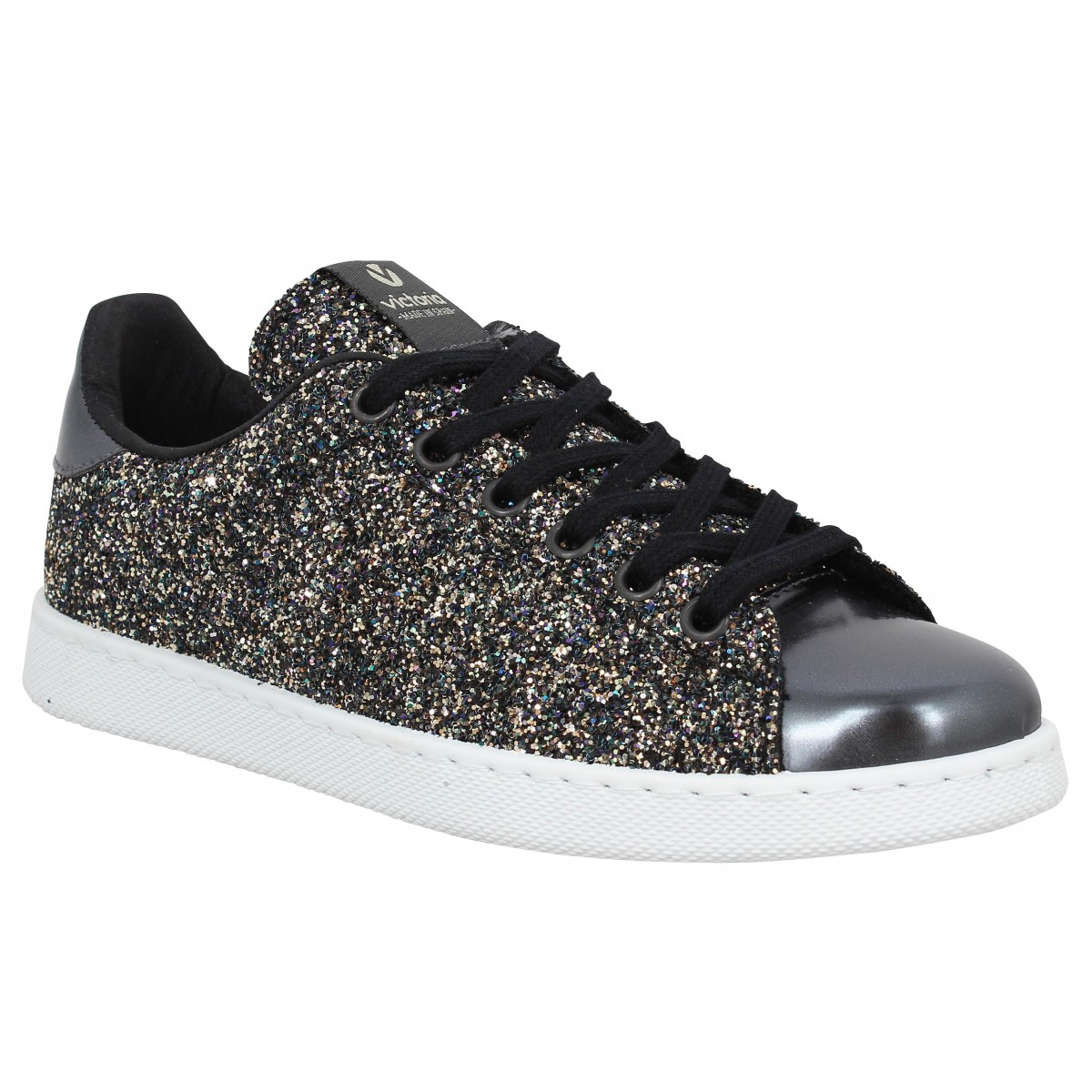 Baskets VICTORIA 12558 glitter Anthracite