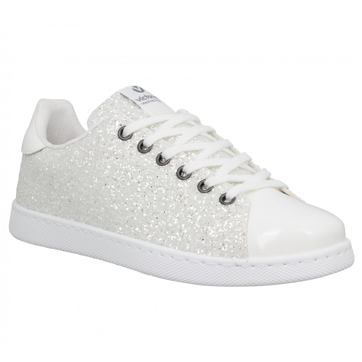 Glitter Chaussures Victoria Femme BlancFanny 12558 8wNkXn0OP