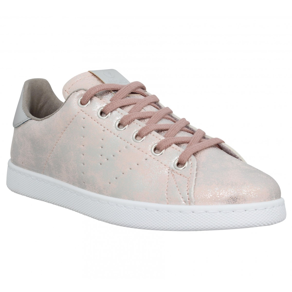 Baskets VICTORIA 12585 simili Femme Rose