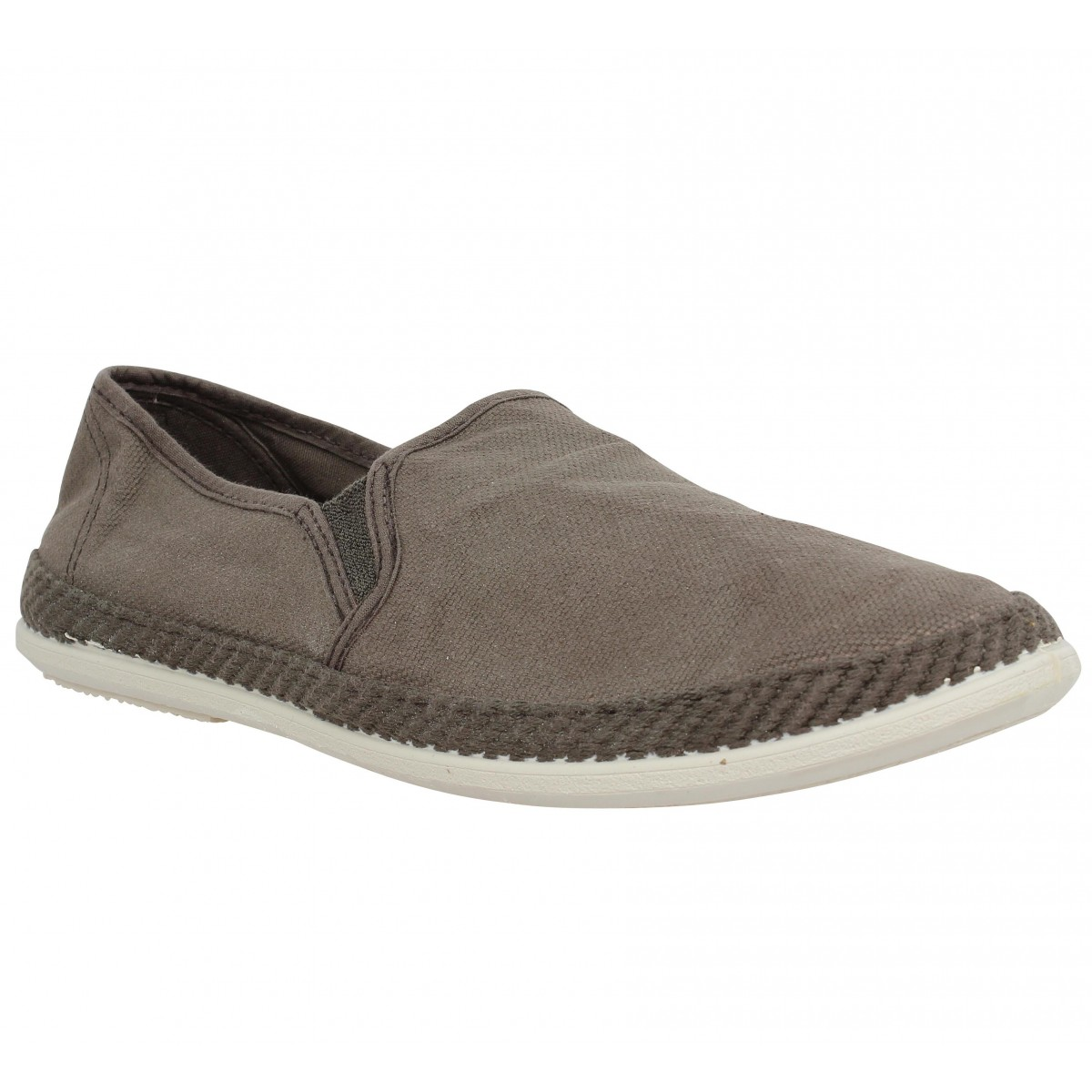 Espadrilles VICTORIA 20004 toile Homme Taupe