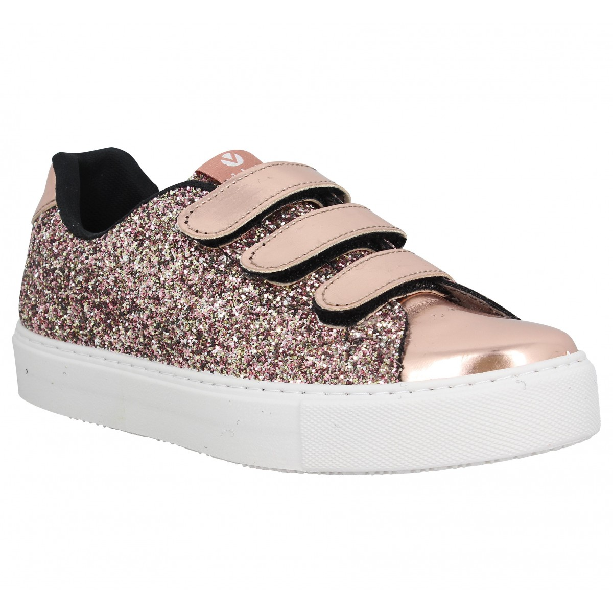 Victoria RosaFanny Chaussures Glitter 25014 Femme Velcro QdstxrCh