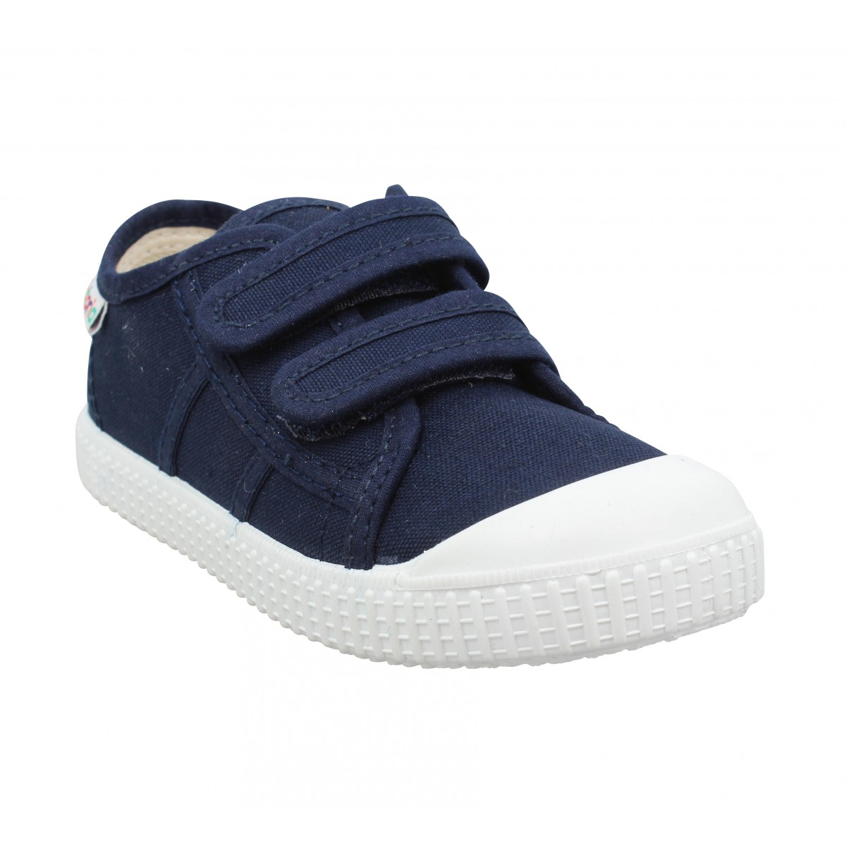 Baskets VICTORIA 36606 Velcro toile Enfant Marine