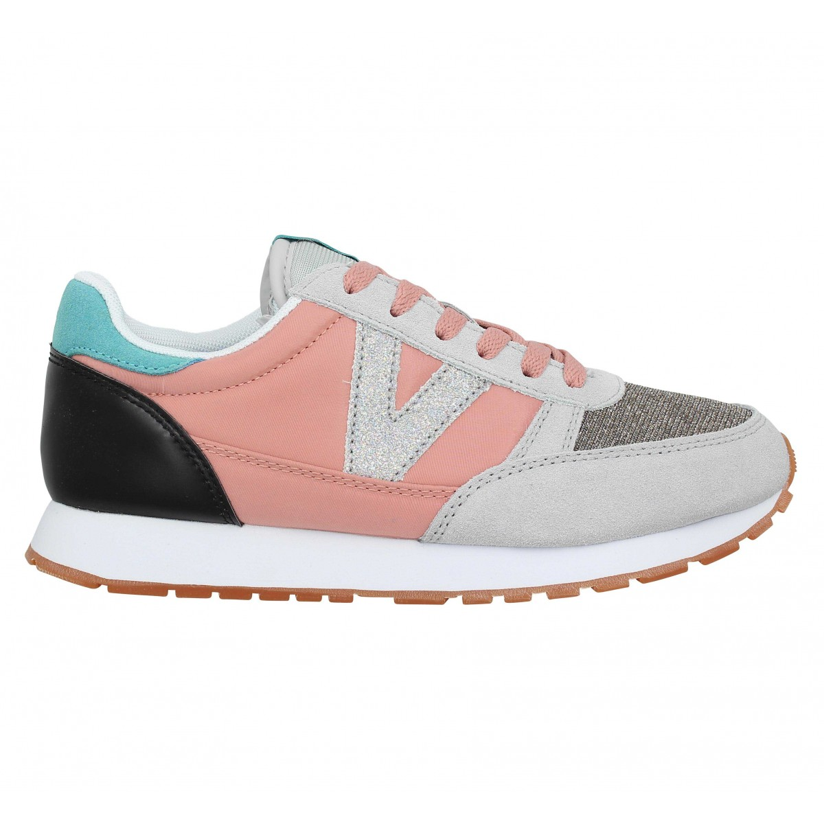 Chaussures Victoria 41104 toile femme rose femme | Fanny
