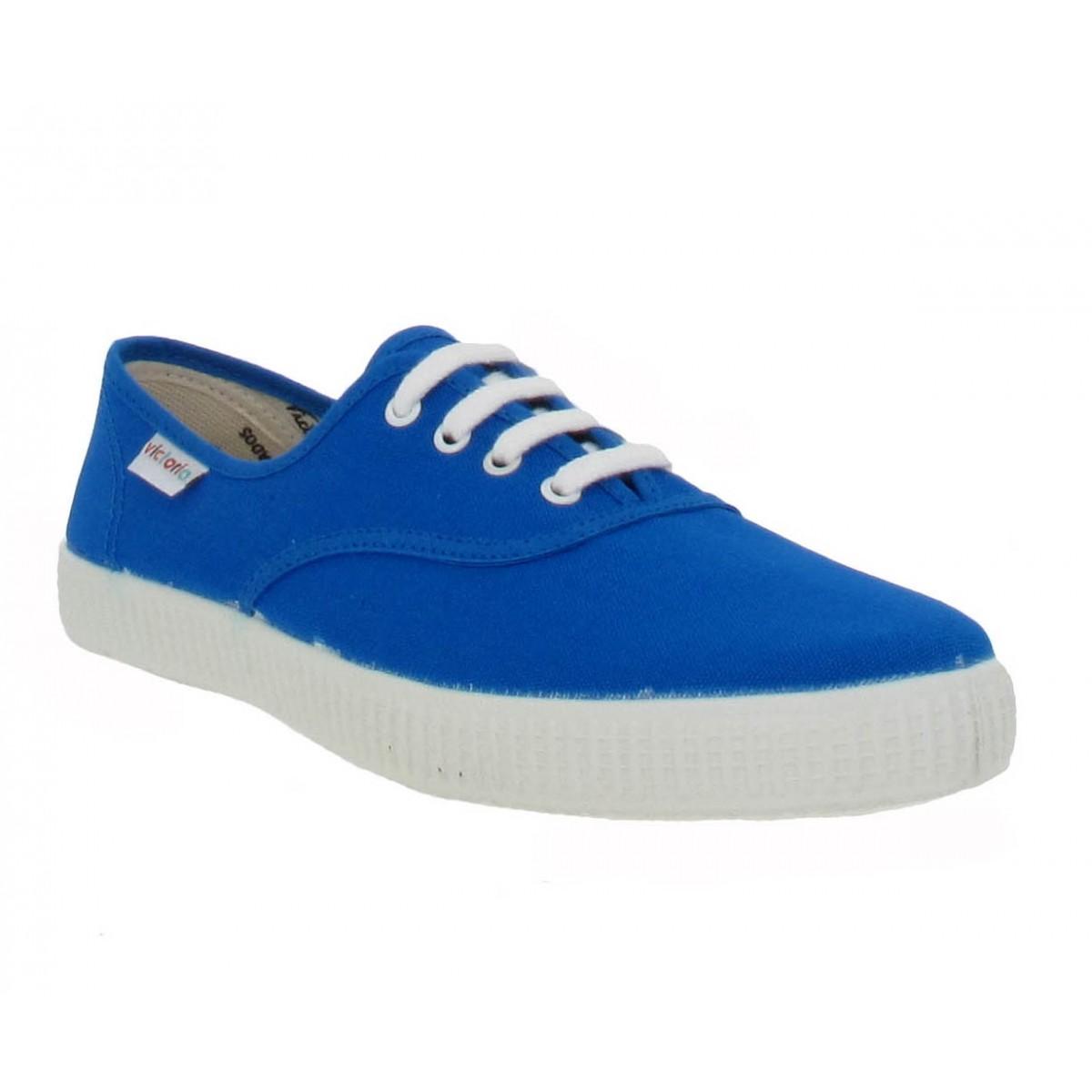 Baskets VICTORIA 6613 toile Homme Bleu
