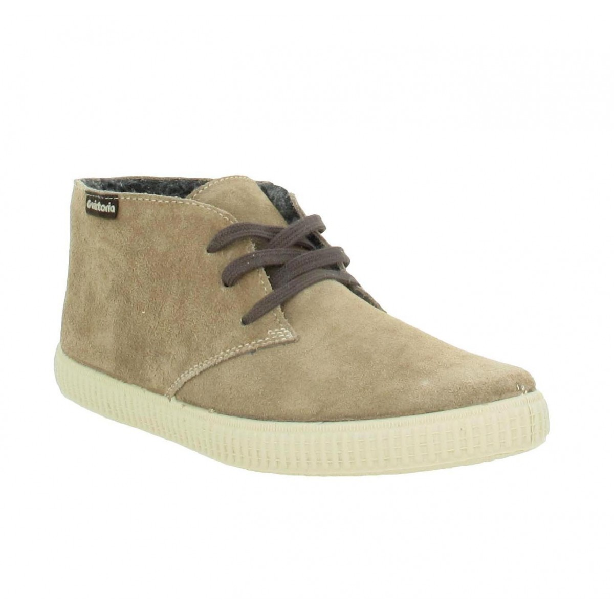 Baskets VICTORIA 6788 velours Femme Taupe