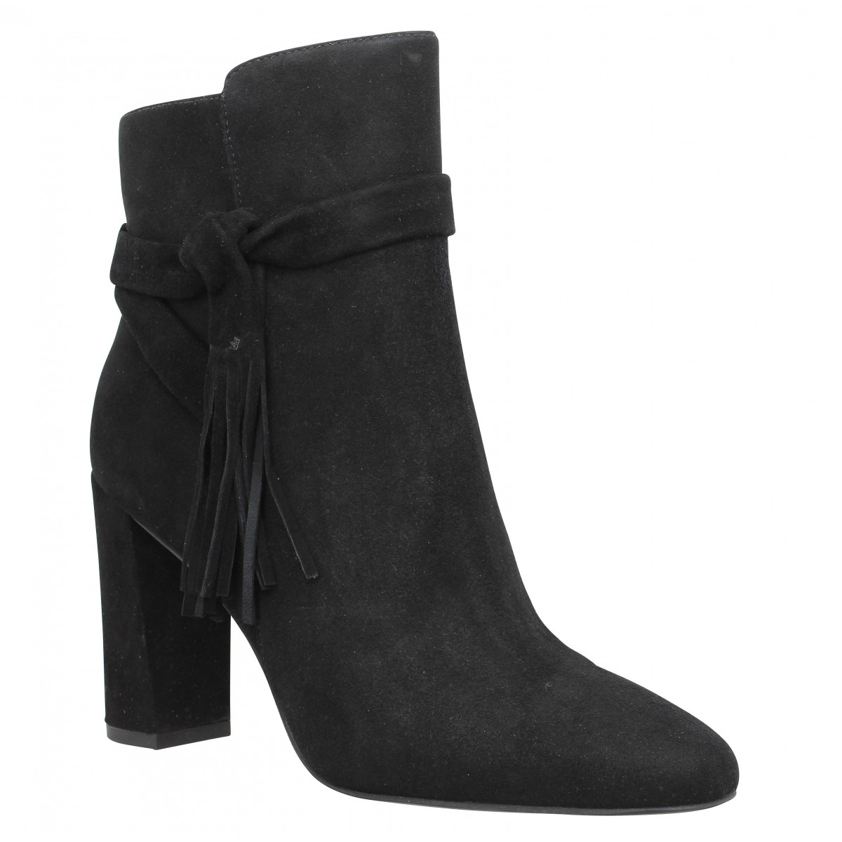 Bottines WHAT FOR 112 Femme Noir