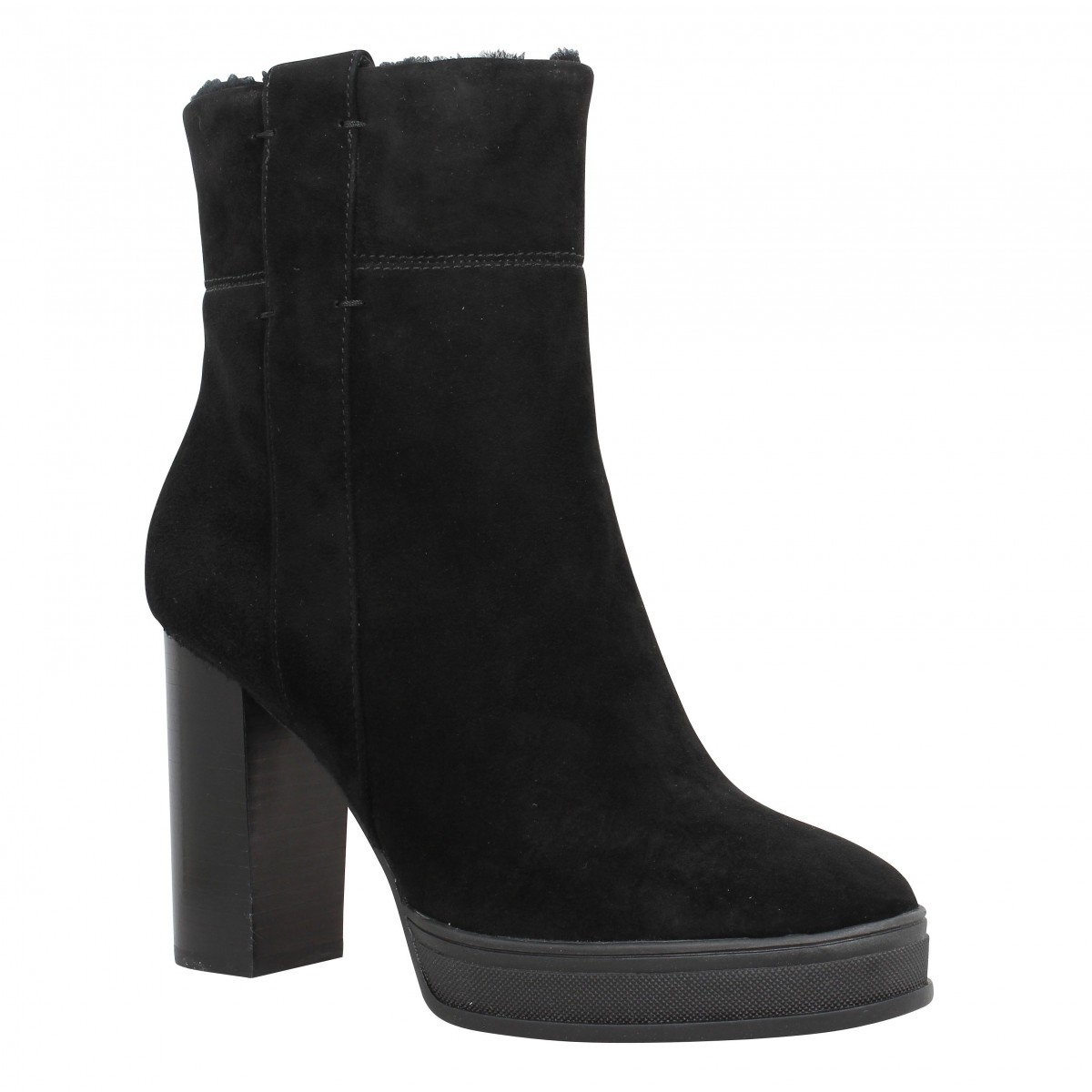Bottines WHAT FOR 3169 Femme Noir