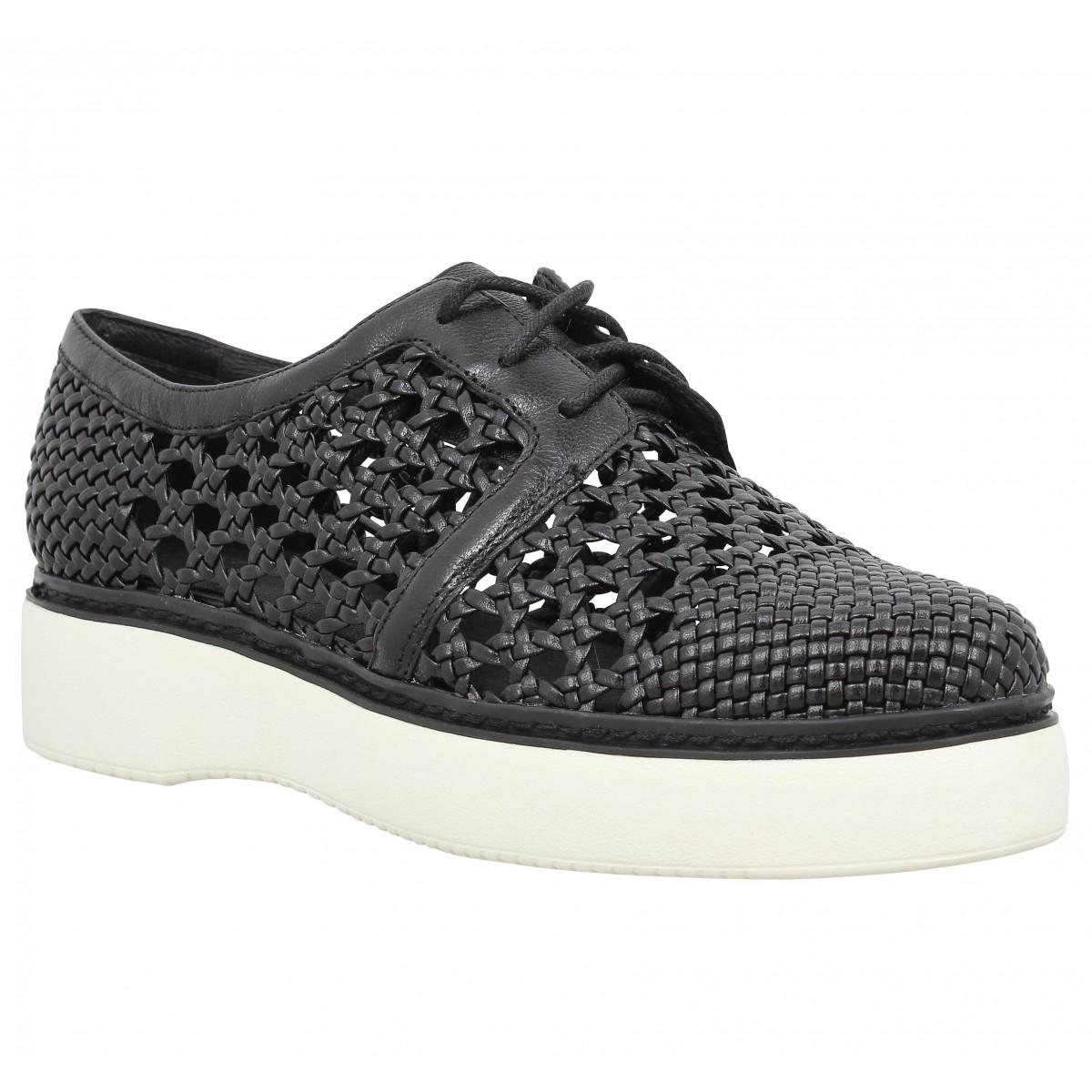 Chaussures à lacets WHAT FOR 7024 Femme Noir